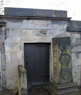 Daniel Stewart Tomb Exchequer and Founde