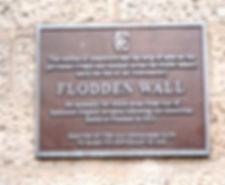 Flodden Wall Plaque Bristo Port
