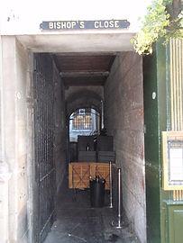 Bishops Close High Street Royal Mile Edi