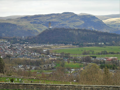 Stirling Bridge Wallace Monument and Sti