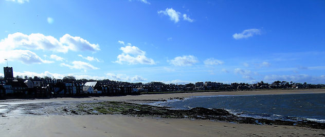 North Berwick and Beach East Lothian