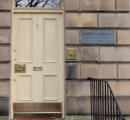 Robert Louis Stevenson's Birthplace 8 Howard Place Edinburgh