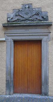 Moray House Door Canongate Edinburgh