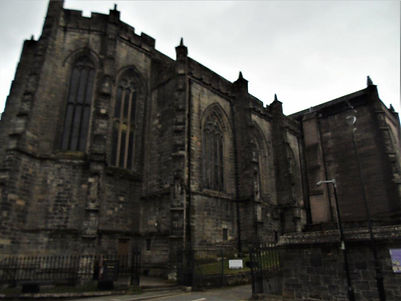 The Holy Rude Church Stirling Attraction