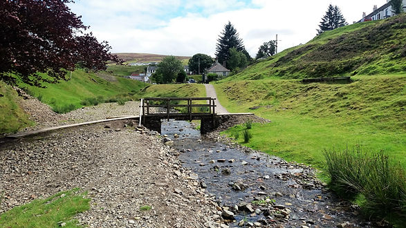 Wanlockhead Bridge Burn