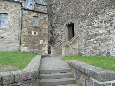 Stirling Castle Old Chapel Entrance