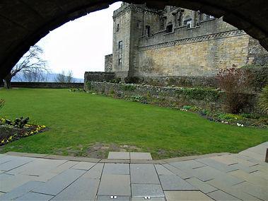 Stirling Castle Queen Anne Garden