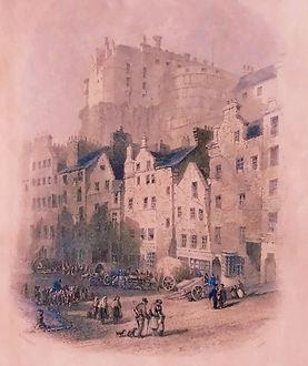 Grassmarket North Side 1830