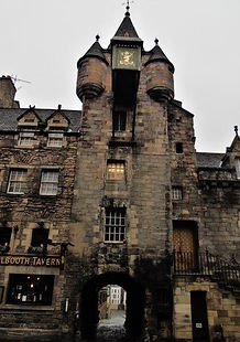 Old Tolbooth Wynd and Tolbooth. Canongat