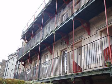 canongate tenements Dunbar's Close Canon