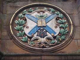 Mecat Cross University of Edinburgh Coat of Arms Medallion
