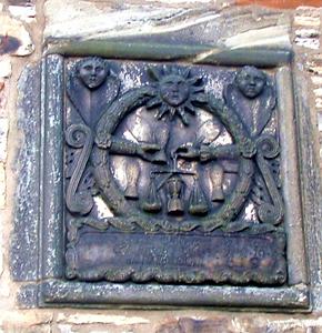 Dean Bridge House Wall Tablet Edinburgh