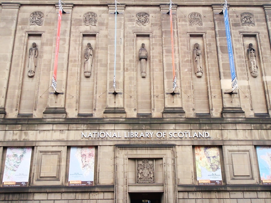 National Library of Scotland George VI Bridge Edinburgh