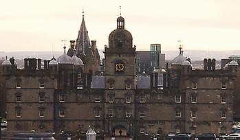 Heriots School Front Door Edinburgh