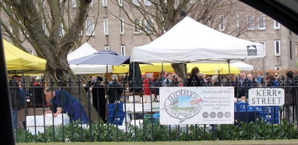 Stockbridge Sunday Market Edinburgh