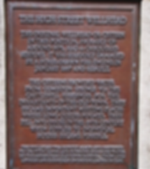 allaboutedinburgh royal mile high street wellhead  bronze plaque high street edinburgh