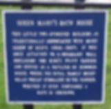 allaboutedinburgh royal mile abbey strand holyrood palace queen mary's bath house sign