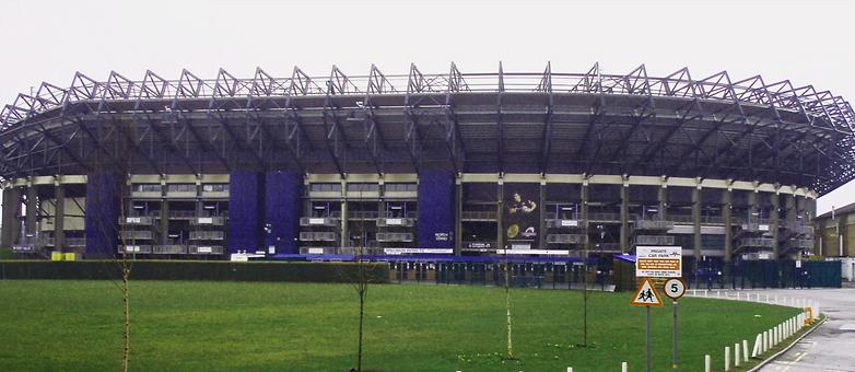 Scottish National Rugby Union Stadium Edinburgh