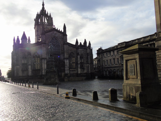 St Giles Cathedral West Parliament Square.
