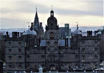 Heriots School Front Elevation facing Edinburgh Castle