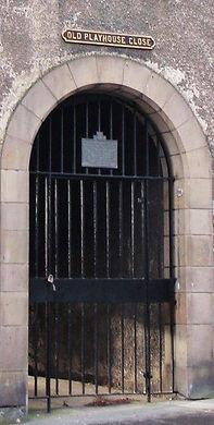old playhouse close gate canongate royal