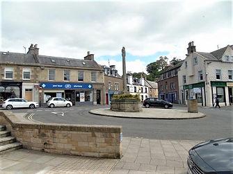 Melrose Town centre Scottish Borders Att
