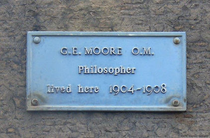 G E Moore Lived Buccleuch Place Edinburgh