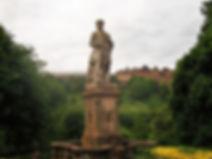 Allan Ramsay Statue West Princes Street Gardens