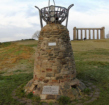 Democracy Cairn Foe Scotland Calton Hill Edinburgh