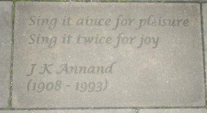 ROYAL MILE MAKARS' COURT JAMES KING ANNA