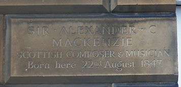 Alexander MacKenzie Plaque Broughton Edi