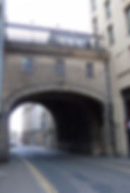 South Bridge over Cowgate Edinburgh
