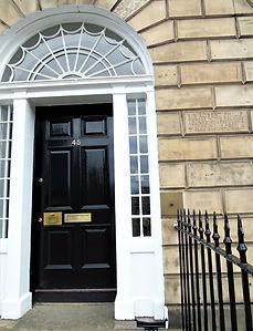 Robert Philip  Lived Here. Edinburgh