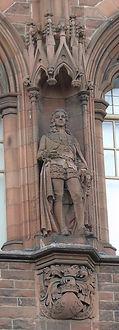 statue of 2nd Duke of Argyll scottish national portrait gallery queen street edinburgh