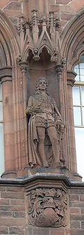 statue of 2nd Duke of Argyll scottish national portrait gallery queen street edinburgh
