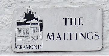The Maltings   Sign Cramond Edinburgh
