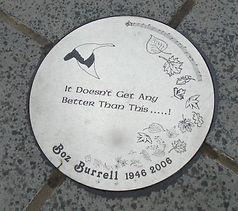 Boz Burrell Disc Shore Leith Edinburgh