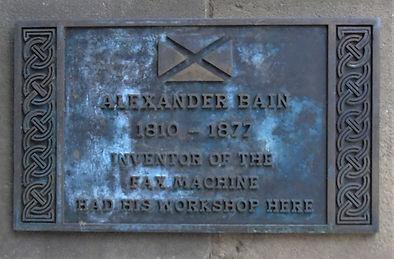 Alexander Bain Workshop Hanover Street E