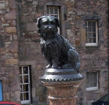 Greyfriars Bobby Dog Monument