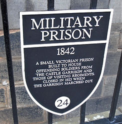 Military Prison Plaque Edinburgh Castle