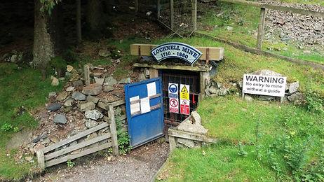 Lochnell Mine Wanlockhead Scotalnd