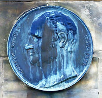 William Tuke Medallion Morningside Edinburgh