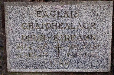 First Gaelic Chapel Johnston Terrace Edinburgh