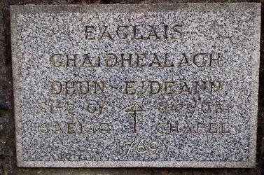First Gaelic Chapel Johnston Terrace Edinburgh