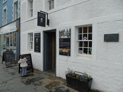 John Muir Birthplace and Museum Dunbar East Lothian