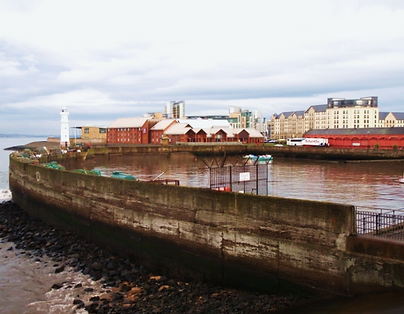 Newhaven Harbour River Forth
