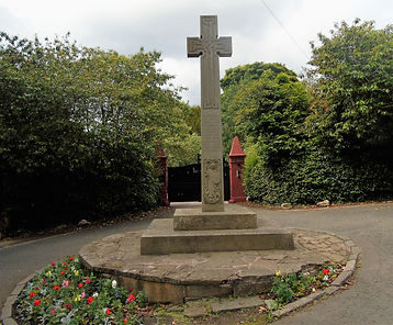 Inveresk War Memorial Cross East Lothian