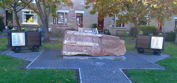 Wallyford Miners Memorial Stone East Lot