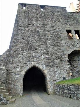 Stirling Castle North Gate. Back Door
