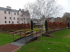 Abbey Strand Garden Holyrood Palace Edin